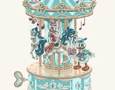 Donald Duck Music Box