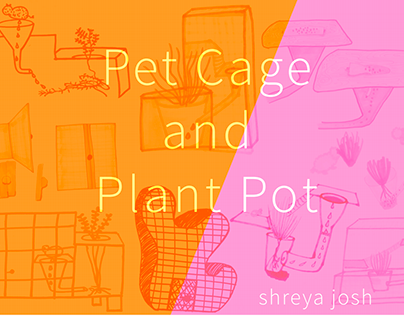 Plant Pot / Pet Cage for Chinchillas