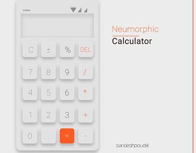 Neumorphic Calculator