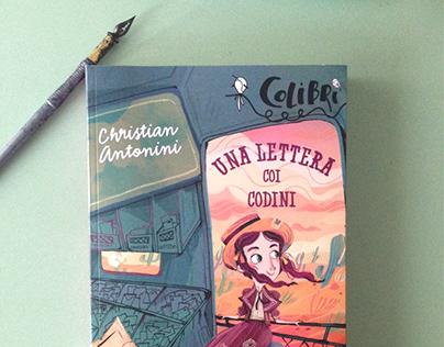 Cover book - Una lettera coi codini