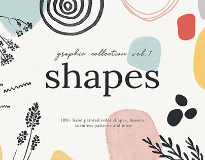 Abstract Shapes Print Graphics Vol.1bylikorbut