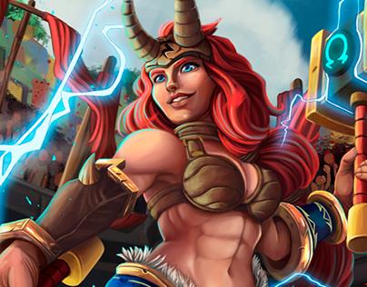 Freya Battlerite