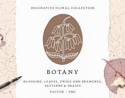 BOTANY Decorative Floral Collection