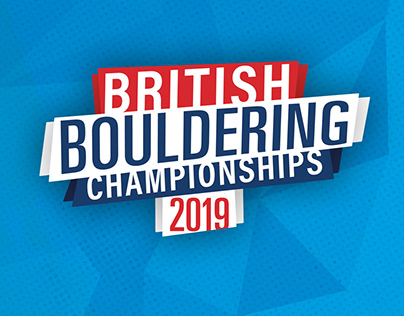British Bouldering Championships - Brand Design