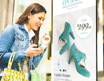 Shoe Plus Interactive Kiosk