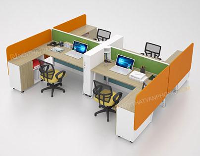 FM414-T working desk cluster