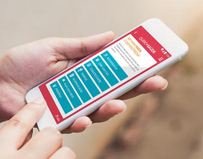 Hybrid Mobile App - Quero + Saúde - Access Health