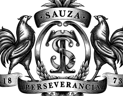 Sauza Tequila Logo Illustrated by Steven Noble