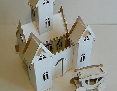 POP UP, 3D объемные конструкции из картона