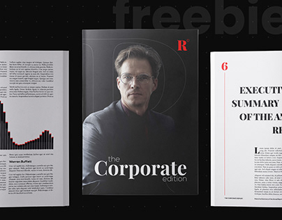 FREE Corporate Edition Template - InDesign