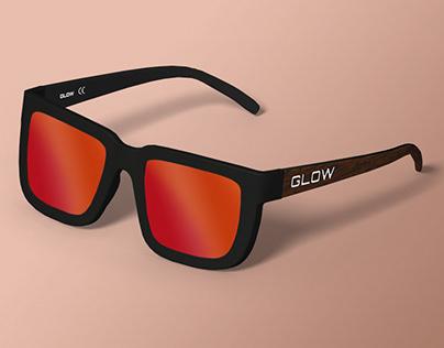 Modelado CAD 3D gafas de sol GForce