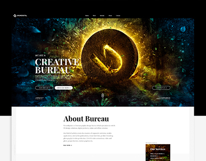 UNUMDIGITAL Website Concept