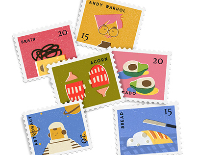 Stamp illustrations