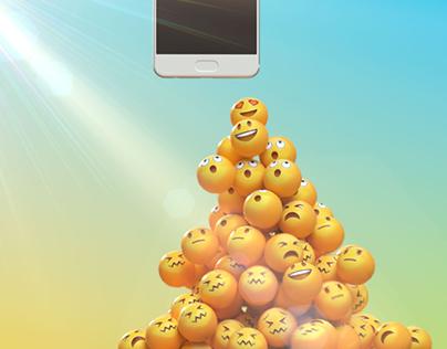Telenor Smiley Pyramid