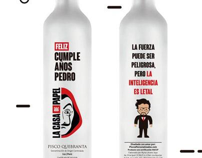 Botellas de cumpleaños personalizadas