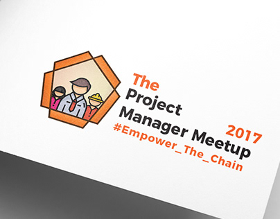 The Project Manager Meet-up 2017 | Suggested logo