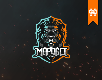 Mapogo Lions - Gaming Logo Design