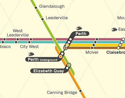 Future Perth Transit Map