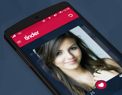 Dating app - tinder redesign
