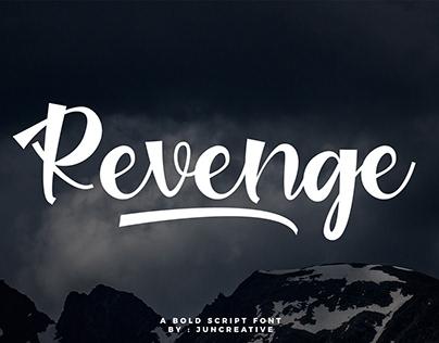 Free   Revenge Bold Script