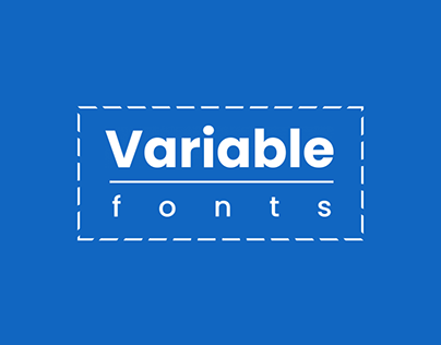 20+ Catchy Variable Fonts for Graphic Designers