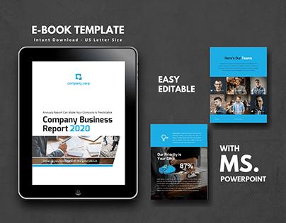 Business Report eBook Design