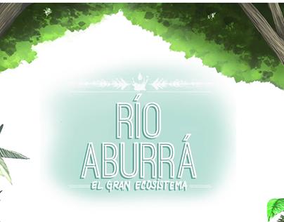 Animación intro proyecto Río Aburrá