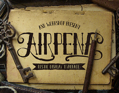 Airpena Rustic Font