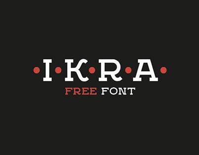 Ikra Slab // Typeface