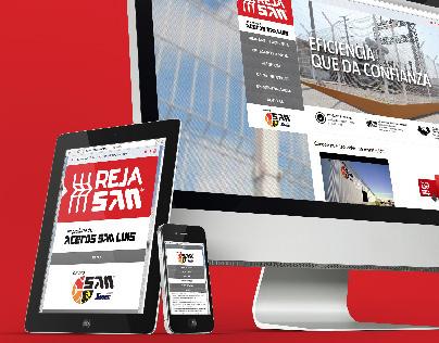 Reja San: Branding + web