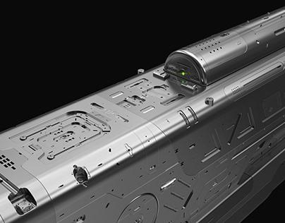 Sci-Fi Ceiling Turret