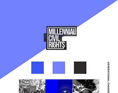 Millennial Civil Rights - Logo Design