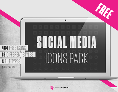 Free Social Media Icons Pack