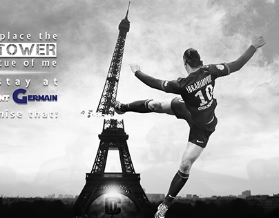 Zlatan Kick The Eiffel Tower