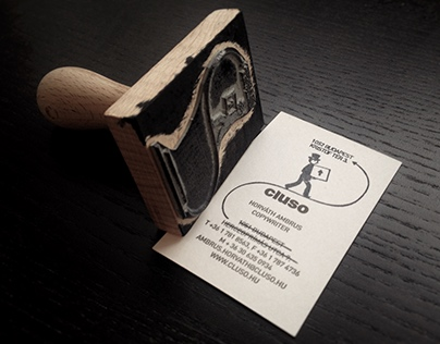 The Business Card Stamp