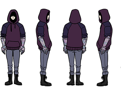 Xander Character Design Commission