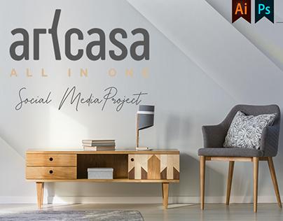 Art Casa Social Media Project