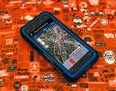 City of Westminster mobile app with mapping