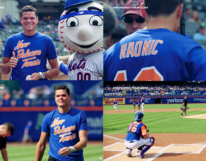New Balance Tennis / New York Mets Promo