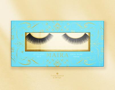 Maira Eyelash Packaging Box