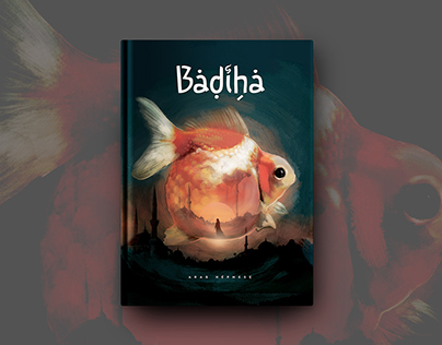 Badiha book cover illustration