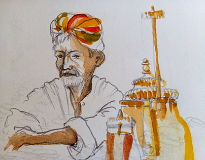 sketchbook. India 2011