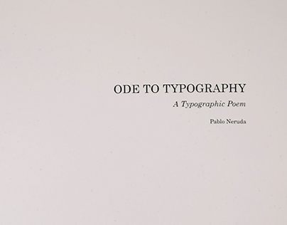 Two Poems of Typography