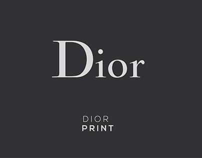 DIOR// PRINT