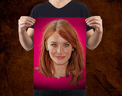 Bryce Dallas Howard Digital Painting