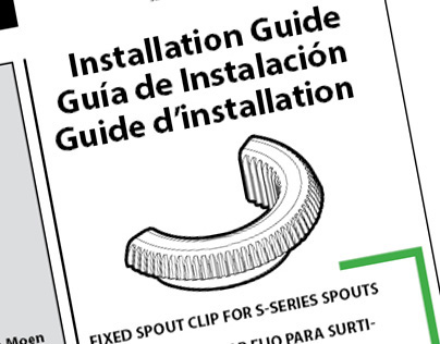 Custom Moen Instruction Sheet