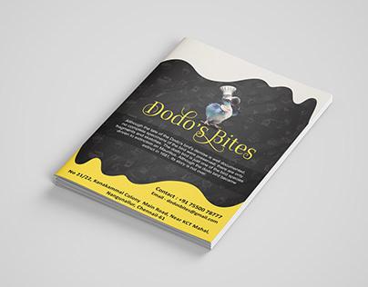 Dodo's Bites Brochure..