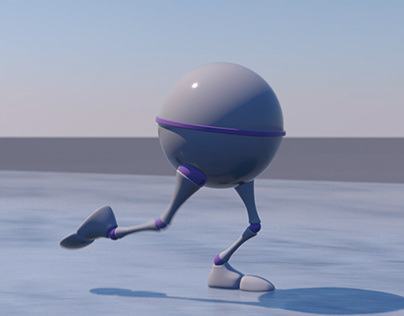 Figure skating - 3D animation