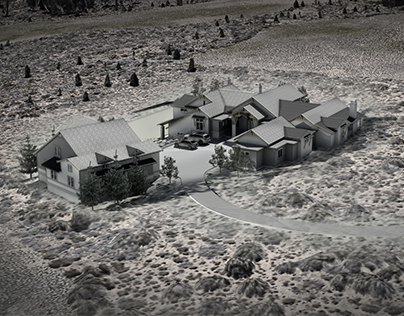 Bend, Oregon Residential Rendering Study