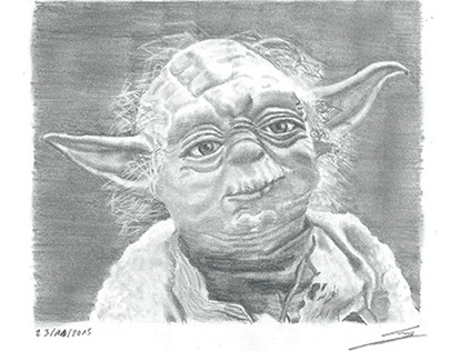 Yoda de la saga Star Wars